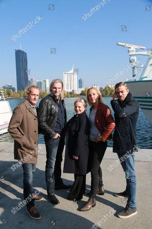Lilian Klebow, Stefan Jürgens, Brigitte Kren, Helmut Bohatsch, Michael Steinocher