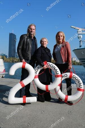 Lilian Klebow, Stefan Jürgens, Brigitte Kren