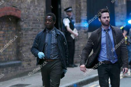 Editorial image of 'Dark Heart' TV Show, Series 2, Episode 2 UK  - 2018