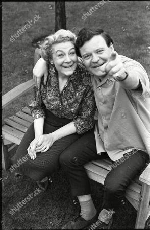 Stock Image of Betty Alberge (as Florrie Lindley) and Glyn Owen (as Norman Lindley)
