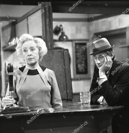 Doris Speed (as Annie Walker) and Gordon Rollings (as Charlie Moffitt)