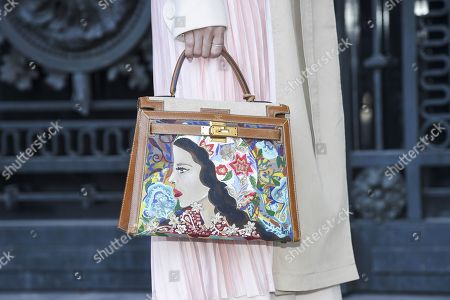 Stock Picture of Heart Evangelista, bag detail