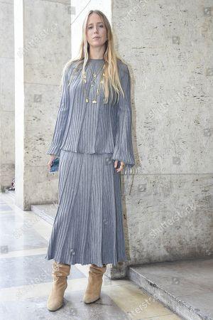 Editorial photo of Street Style, Spring Summer 2019, Paris Fashion Week, France - 28 Sep 2018