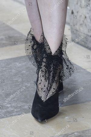 Editorial image of Street Style, Spring Summer 2019, Paris Fashion Week, France - 28 Sep 2018