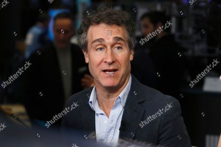 """Film director Doug Liman is interviewed on Cheddar, on the floor of the New York Stock Exchange, . Liman directed the 2010 film """"Fair Game"""" about the Valerie Plame affair"""