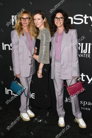 Julia Roberts, Clare Waight Keller and Elizabeth Stewart