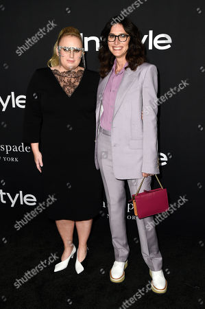 Stock Picture of Rebel Wilson and Elizabeth Stewart