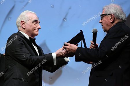 Paolo Taviani rewards Martin Scorsese