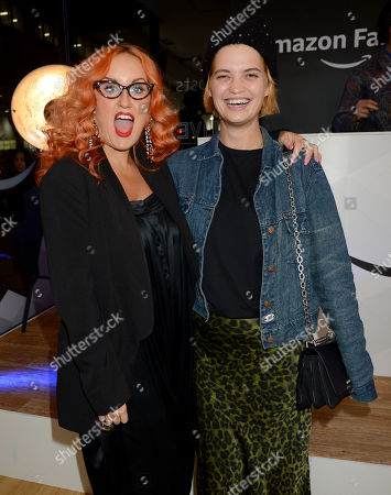 Editorial photo of Amazon Fashion Hosts Pop-Up Shop Live VIP Launch Event, London, UK - 22 Oct 2018