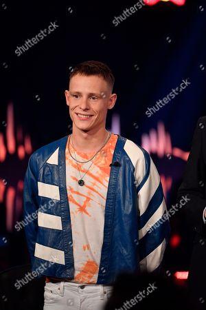 Editorial photo of 'Skavlan' TV show, Stockholm, Sweden - 17 Oct 2018