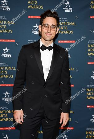 Ted Arison Young artist award honoree Justin Peck