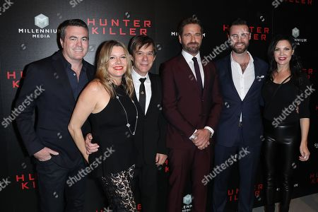 "Editorial picture of Lionsgate hosts the World Premiere of ""Hunter Killer"", New York, USA - 22 Oct 2018"