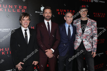 """Editorial photo of Lionsgate hosts the World Premiere of """"Hunter Killer"""", New York, USA - 22 Oct 2018"""