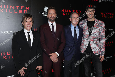 """Editorial picture of Lionsgate hosts the World Premiere of """"Hunter Killer"""", New York, USA - 22 Oct 2018"""
