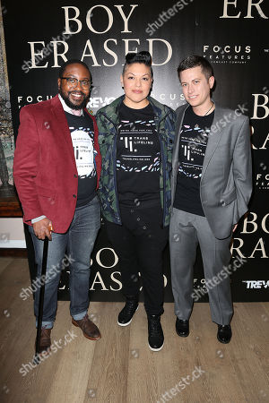 Taj Smith, Sara Ramirez and Sam Ames
