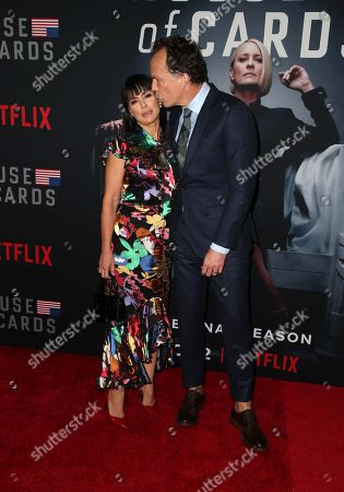 Stock Picture of Constance Zimmer, Russ Lamoureux