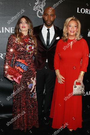 Danella Rich, Karamo Brown and Denise Rich