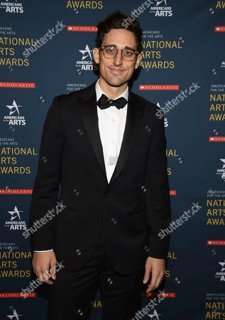 Ted Arison Young artist award honoree Justin Peck attends the 2018 National Art Awards, hosted by Americans for the Arts, at Cipriani 42nd Street, in New York