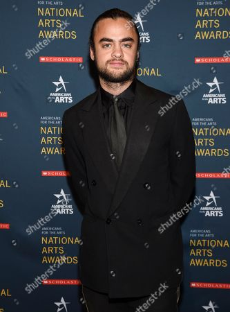 Stock Photo of Photographer Michael Avedon attends the 2018 National Art Awards, hosted by Americans for the Arts, at Cipriani 42nd Street, in New York