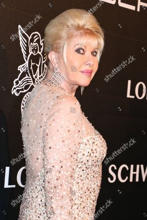 Editorial picture of Angel Ball, Arrivals, New York, USA - 22 Oct 2018