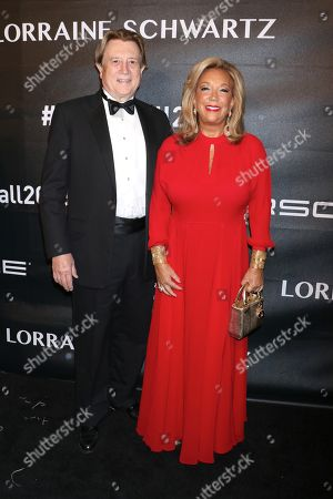 Editorial photo of Angel Ball, Arrivals, New York, USA - 22 Oct 2018