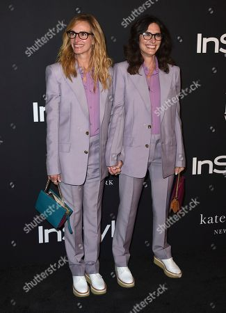 Elizabeth Stewart, Julia Roberts. Julia Roberts and Elizabeth Stewart arrive at the fourth annual InStyle Awards at The Getty Center on in Los Angeles