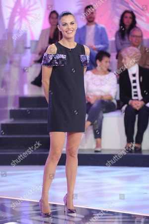 Editorial image of 'Detto Fatto' TV show, Milan, Italy - 19 Oct 2018