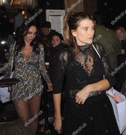 Charley Webb and Kate Oates