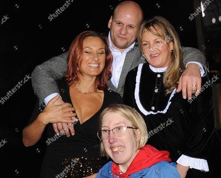 Lorraine Stanley and Luisa Bradshaw-White and Ricky Champ
