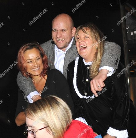 Stock Image of Lorraine Stanley and Luisa Bradshaw-White and Ricky Champ