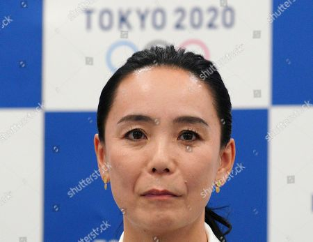 Japanese film director Naomi Kawase attends a press conference in Tokyo, . Kawase was named to make the documentary film about Tokyo's 2020 Olympics. She said she hoped to focus partly on reconstruction efforts in the northern Fukushima region of Japan, which was devastate by an earthquake and tsunami in 2011 and a resulting nuclear disaster