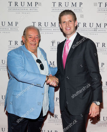 Robin Leach and Eric Trump