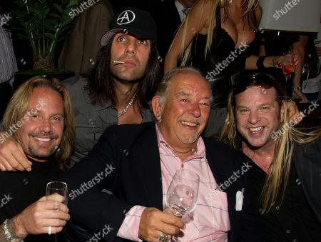 Vince Neil, Criss Angel, Robin Leach and Michael Boychuck