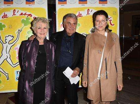 Marie-Christine Barrault, Jean Loup Arnaud, Agnes Buzyn