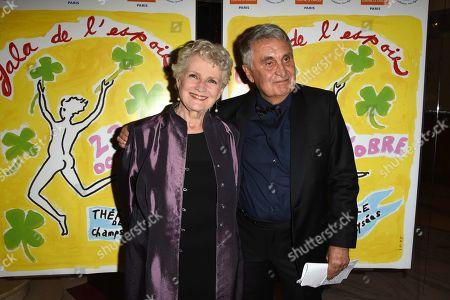 Marie-Christine Barrault and Jean Loup Arnaud