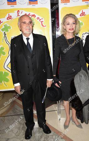 Caroline Sihol and Jean Louis Livi