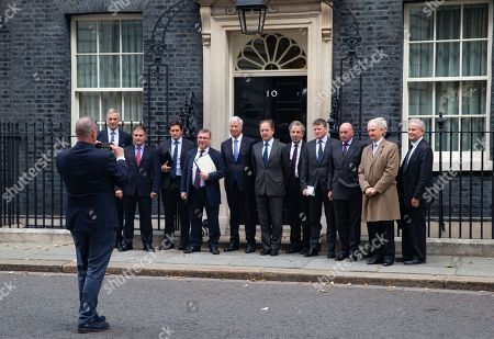 Petition being handed in to Downing Street by a group led by Mark Francois, MP for Rayleigh and Wickford. The group includes Sir Henry Bellingham MP, Sir Michael Fallon, Richard Drax and Lord Dannatt.They are demanding a law preventing legal persecution of Veterans They want a lasting legal protection for the Armed services and Security personnel