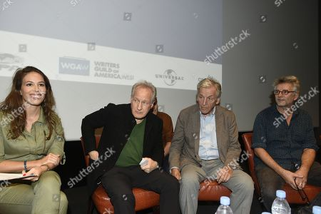 Nathalie Marchak, Michael Mann, Constantin Costa Gavras and Michel Leclerc