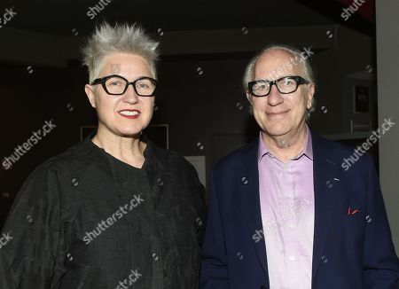 Stock Image of Howard A Rodman and guest