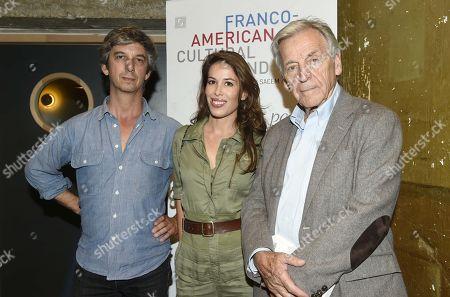 Constantin Costa Gavras,Nathalie Marchak and Dante Desarthe