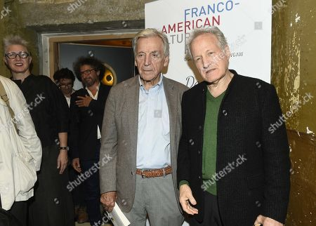 Constantin Costa Gavras and Michael Mann