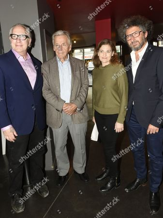 Stock Picture of Howard A Rodman, Constantin Costa Gavras, Andrea Berloff and Radu Mihaileanu