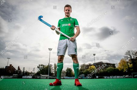 Green Machine head coach, Alexander Cox, has today announced his World Cup squad of 20 players that will travel to Bhubaneswar in India for the showpiece event. The team will be the first Irish men?s hockey team to compete at a World Cup since 1990. Speaking at the announcement, Cox said ?I am proud to announce our World Cup squad. The camps we had in Ireland and overseas were very good and allowed me to see the potential of all the players in our training panel. The 20 players selected give me the most options in defense, midfield and attack. We are very much looking forward to the upcoming tournament in Valencia which will be our first test as a team as we look towards the World Cup?. Today also marked the unveiling of Turkish Airlines as the new primary sponsor of the senior men?s team, speaking about the announcement Hockey Ireland CEO Jerome Pels said ?We are pleased to reveal Turkish Airlines as the new primary sponsor of the Green Machine. Hockey is a global sport and we?re delighted to partner with such an international brand like Turkish Airlines. They have a long history of sponsorship in sport and we?re very excited about this partnership?. Hasan Mutlu, Turkish Airlines General Manager for Ireland, commented ?We are delighted to be announcing Turkish Airlines as the sponsorship partner for Ireland?s men?s hockey team. This is a momentous day for both organisations as we cement our relationship we can clearly see the immense potential for this team on the international stage. We are delighted to support them in their every success as the men?s hockey World Cup in India comes closer into view?. Pictured today is Jonny Bell