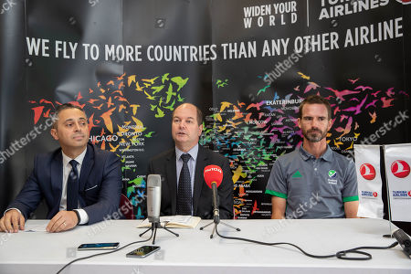 Editorial photo of Ireland Men's Hockey World Cup Squad & Primary Sponsorship Announcement, Pembroke Wanderers Hockey Club, Dublin  - 23 Oct 2018