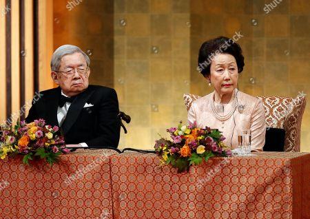 Editorial picture of Praemium Imperiale Awards ceremony in Tokyo, Japan - 23 Oct 2018