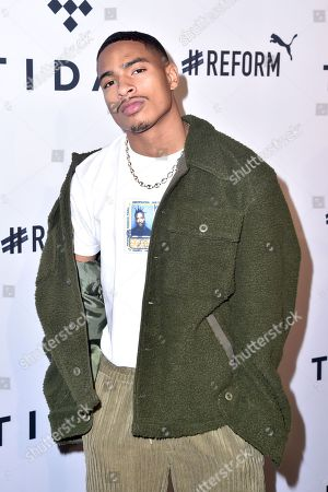 Editorial image of Fourth annual TIDAL X: Brooklyn benefit concert, Arrivals, New York, USA - 23 Oct 2018