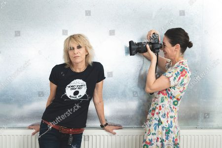 Mary McCartney and Chrissie Hynde