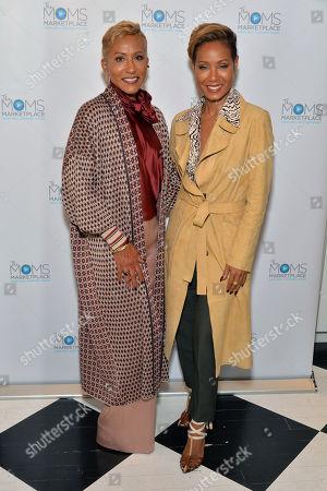 Adrienne Banfield Jones and Jada Pinkett Smith