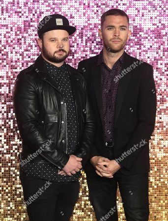 Ben Thatcher (left) and Mike Kerr of Royal Blood