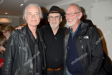 Jimmy Page, Duane Eddy and Bob Harris
